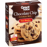 Great Value Chocolate Chip Cookie Mix