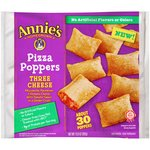 Annie's Homegrown Three Cheese Pizza Poppers