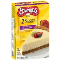 Edwards Slices New York Style Cheesecake - 2 CT