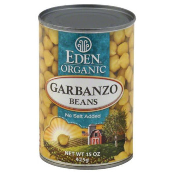 Eden Foods Organic Garbanzo Beans, No Salt Added