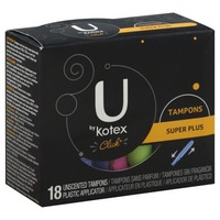 U by Kotex Click Super Plus Unscented Tampons