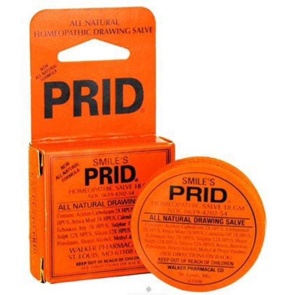 Hyland's Smile's PRID Homeopathic Drawing Salve