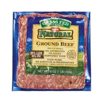 Heb Natural Grass Fed Free Range 90/10 Ground Beef