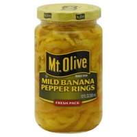 Mt. Olive Mild Banana Fresh Pack Pepper Rings