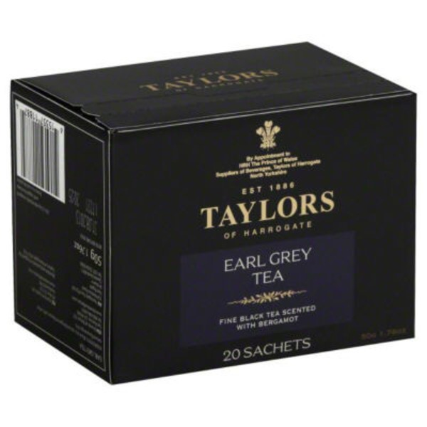 Taylors of Harrogate Earl Grey Tea Sachets