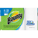 Bounty Paper Towels 6 Super Rolls Select-a-Size White