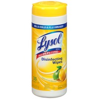 Lysol Lemon & Lime Blossom Scent Disinfecting Wipes