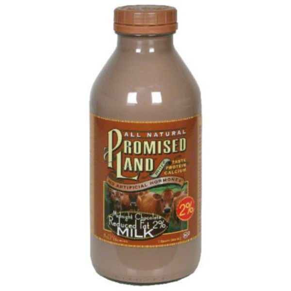 Promised Land 2% Reduced Fat Midnight Chocolate Milk