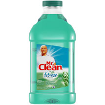 Mr. Clean Powerful Multi-Surface Cleaner With Febreze Freshness Meadows & Rain