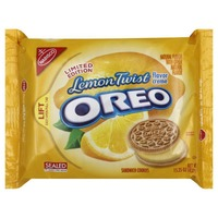 Nabisco Oreo Lemon Creme Sandwich Cookies