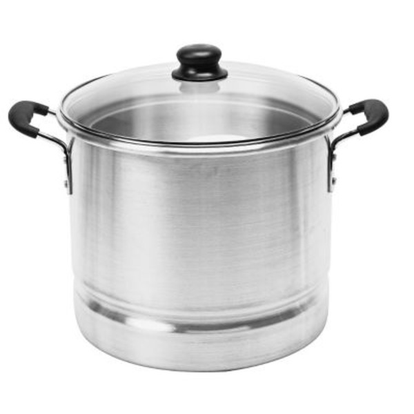 Imusa Tamale Steamer With Glass Lid Soft Touch
