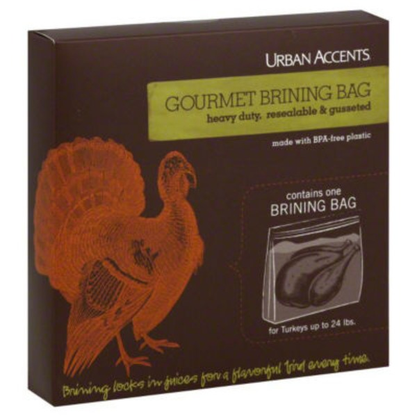 Urban Accents Gourmet Brining Bag