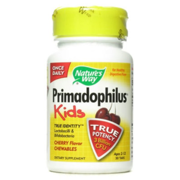 Nature's Way Cherry Flavor Primadophilus Kids Chewables