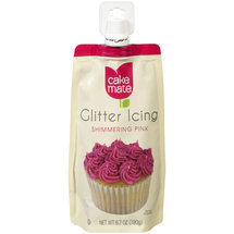 Cake Mate Shimmering Pink Glitter Icing