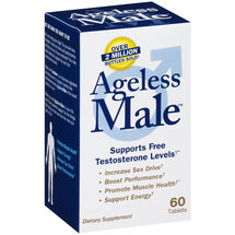 Ageless Male Testosterone Support Dietary Supplement Tablets