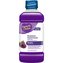 Parent's Choice Pediatric Electrolyte Drink Grape Flavored