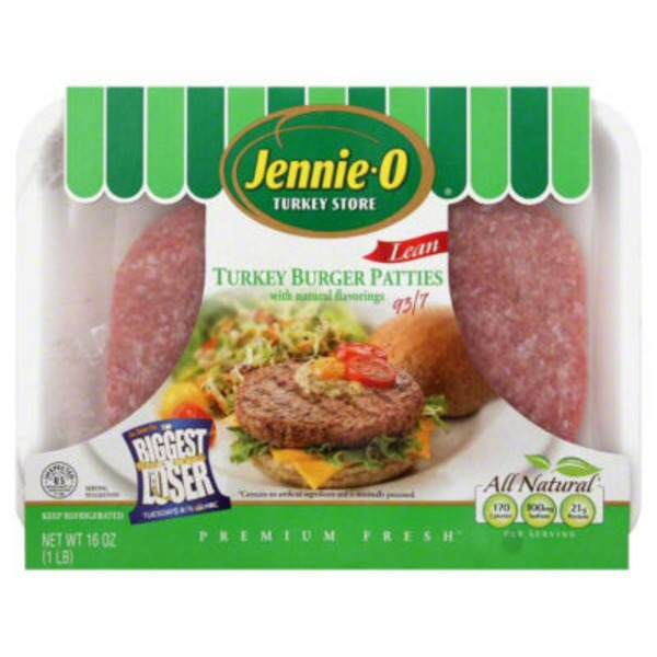 Jennie-O With Natural Flavoring Lean Turkey Burger (000062)