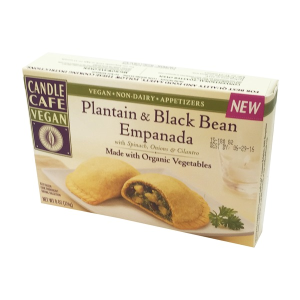 Candle Cafe Plantain & Black Bean Empanada