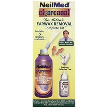 NeilMed Clearcanal Dr. Mehta's Earwax Removal Complete Kit