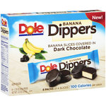Dole Banana Dippers Dark Chocolate Banana Slices