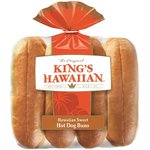 King's Hawaiian Hawaiian Sweet Hot Dog Buns