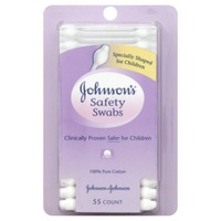 Johnson's® Safety Swabs Cotton Products