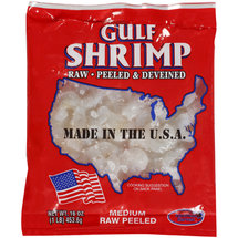 Gulf Shrimp Raw Peeled Gulf Shrimp