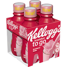 Kellogg's Breakfast To Go Strawberry Shake