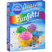 Pillsbury Funfetti Cake Mix with Candy Bits