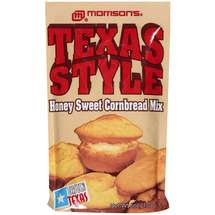 Morrison's Texas Style Honey Sweet Cornbread Mix