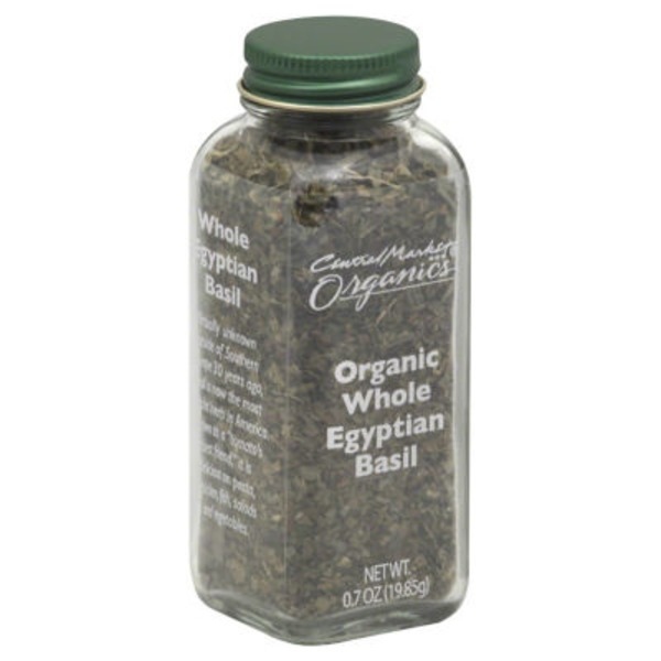 Central Market Organic Whole Egyptian Basil