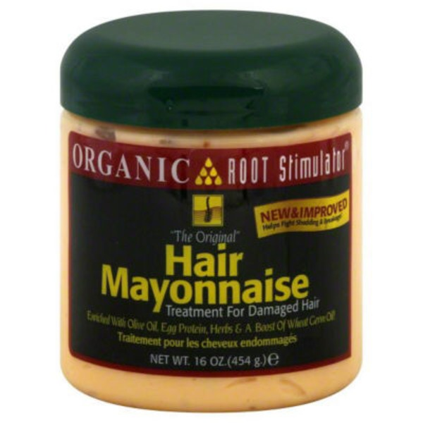 Organic Root Hair Mayonnaise, Jar
