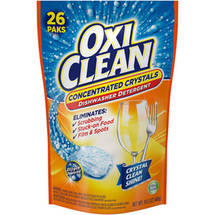 OxiClean Fresh Clean Dishwasher Detergent Paks