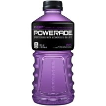 Powerade Grape Ion4 Sports Drink 32 Fl Oz