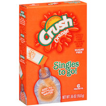 Crush Orange Singles to Go! Drink Mix