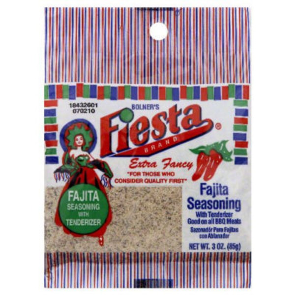 Fiesta Fajita Seasoning With Tenderizer