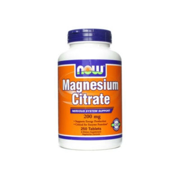 Now Magnesium Citrate 200 mg