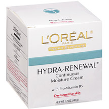 L'Oreal Hydra-Renewal Moisture Cream with Pro-Vitamin B5