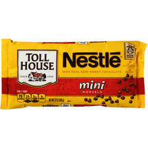 Nestle Toll House Real Semi-Sweet Chocolate Mini Morsels