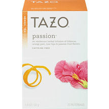 Tazo Passion Herbal Infusion Caffeine Free Tea Bags