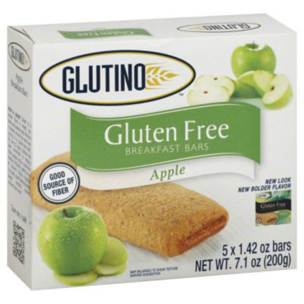 Glutino Gluten Free Apple Breakfast Bars