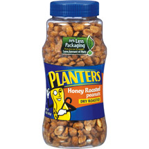 Planters: Dry Roasted Honey Roasted Peanuts