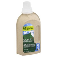 Seventh Generation 4x Ultra Concentrated Free & Clear Natural Laundry Detergent