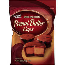 Great Value Peanut Butter Milk Chocolate Cups