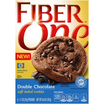 Fiber One Double Chocolate Soft Baked Cookies