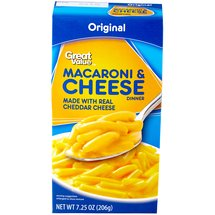 Great Value Dinner Mix Macaroni & Cheese