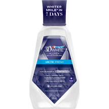 Crest 3D White Arctic Fresh Icy Cool Mint Oral Rinse