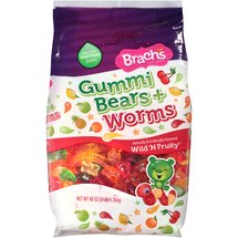 Brach's Wild N' Fruity Gummi Bears & Worms