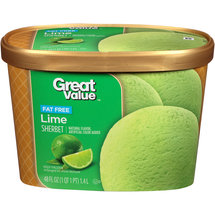 Great Value Lime Sherbet