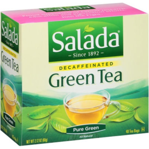 Salada Decaffeinated Green Tea